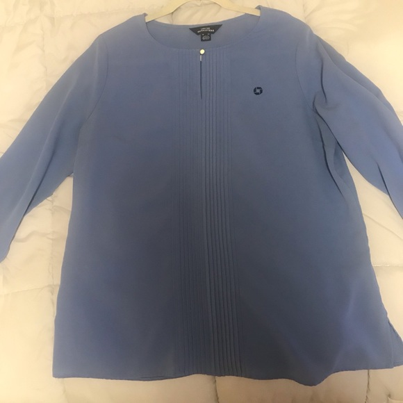 Blue Chase Blouse
